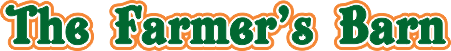 The Farmer's Barn Corn Maze, Family Fun and Farm Fresh Produce Logo