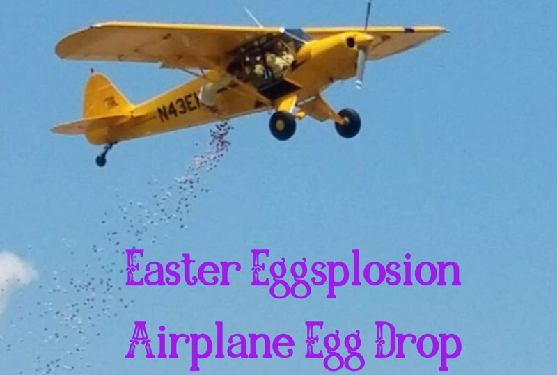 Easter Egg Airplane Drop